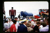 People at Bemidji, Minnesota in mid 1950's, Kodachrome Slide aa 7-25b
