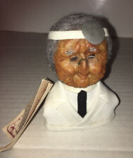 Apple Sculpture Reproductions Hand Crafted Dried Apple Doctor Face Figure