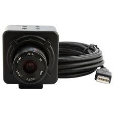 8MP USB Electronic Camera Eyepiece F Microscope Telescope 6mm Manual Focus Lens