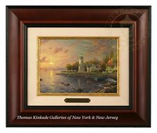 Thomas Kinkade Serenity Cove Framed Brushwork (Brandy Frame)