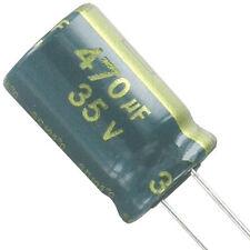 6 St. LESR Elko Elektrolytkondensator 470µF 470uF 35V  ESR ≤ 0,039 Ω Yageo SC