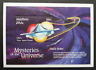 Maldives Mysteries Of The Universe Black Holes 1992 UFO Space Astronomy (ms) MNH