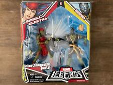Marvel Legends Toybiz Skrull Elektra & Ronin Souble pack NIB