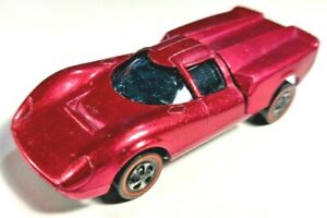 Hot Wheels 1969 Redline Lola GT70 Magenta, Excellent