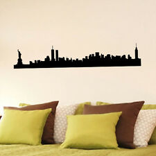New York Skyline city vinyl wall art sticker decal