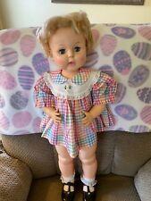 """Vintage Horsman Girl Doll 26"""""""