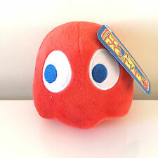 Pac-Man Plush 5 '' . Licensed. Brand New Red Ghost Shadow BLINKY Stuffed, USA