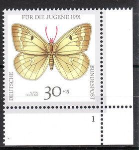 BRD 1991 Mi. Nr. 1512 Postfrisch Eckrand 4 Formnummer 1 TOP!!! (9982)