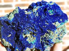 "4.5"" Blue Azurite w/Malachite on Matrix, Liu Feng Shan, China! GAZ123"