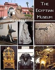 Egypt - CAIRO EGYPTIAN MUSEUM  - Travel Souvenir Flexible Fridge Magnet