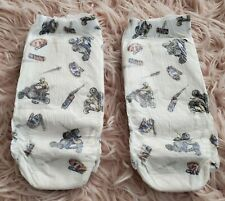 RARE 2 COUNT VINTAGE 2002 2005 PULL-UPS GOODNITES FOR BOYS DIAPERS XL 60-125 LBS