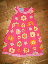 Girls Cre8tions Summer Floral Sleeveless Dress Size 5 ~DARLING~