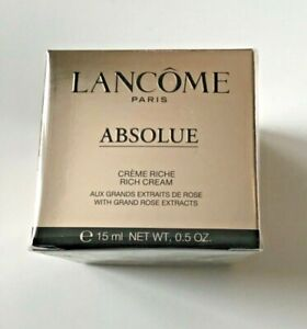Lancome Absolue 15ml Rich Cream Boxed New