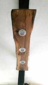 Deckenlampe Holz Hängelampe rustikal LED Vintage Set Leuchte Wildeiche Landhaus