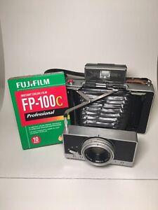 Polaroid Land Camera 180 with Fuji FP100c Film -Tested And Guarenteed