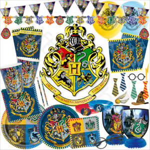 Harry Potter Theme Kids Birthday Party Supplies - Tableware Decorations Favours