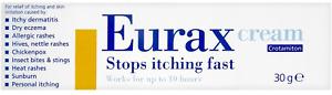 Eurax Itch Relief Cream, 30 g