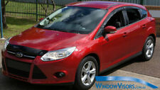 Window Visors WeatherShields 4pcs weather shields for Ford Focus 2011-2018