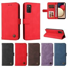 For Samsung S21 S20 A12 A22 A32 A42 A52 A51 Leather Wallet Stand Card Case Cover
