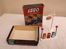 Vintage LEGO System 231 - Petrol Pumps with ESSO Sign