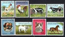 Animaux Domestiques Panama (189) série complète 8 timbres oblitérés
