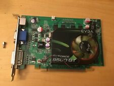 GEFORCE 9500 GT VIDEO CARD, DDR2, USED, WORKED LAST TIME USED