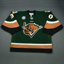 2012-13 Grant Rollheiser Utah Grizzlies Game Used Worn ECHL Hockey Jersey