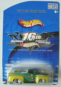 2002  HOT WHEELS  '56  FORD  PANEL  16th HW CONVENTION  2000made