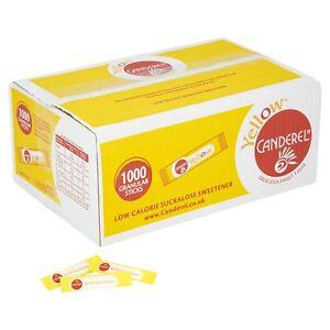 Canderel Granular Sweetener Sticks, Sachets, Packets - 1000 x 0.5g Sticks