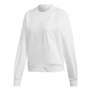 Adidas ID Glory Sweatshirt White Women Large Size 14 UK Crew Neck Jumper RRP £50