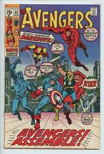 1970 MARVEL THE AVENGERS #82 DAREDEVIL & ARIES APPEARANCE VF/NM 9.0   S1