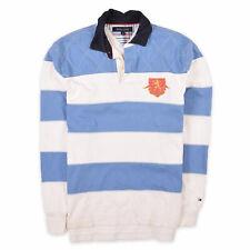 Tommy Hilfiger Herren Polo Poloshirt Classic Gr.M Longsleeve Mehrfarbig 100893