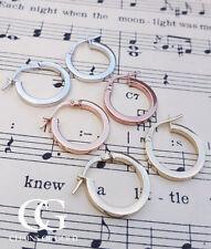 Leverback Beauty Rose Gold Fine Earrings