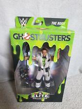 WWF WWE Elite Mattel Wrestling Figure Rare The Rock Ghostbusters New