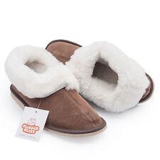 100 Sheepskin Slippers for Women Wool Insole Rubber Sole. UK UK 5 EU 38