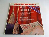 Antal Dorati Verdi Overtures LP 1958 Mercury Stereo Living Presence Vinyl Record