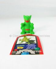 Sceptile Bandai Pokemon Figure Finger Puppet from 2004 Japanese with Sticker!
