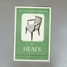 Dining Room Furniture by Heal's 1950s catalogue
