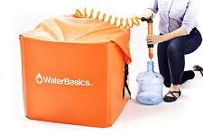 Aquamira WaterBasics - Emergency 30gal Water Storage Tank, Pump & Filtration Kit