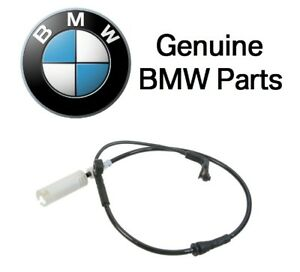 For BMW F10 E60 E61 E63 5-Series 650i Front Driver Left Brake Pad Sensor Genuine