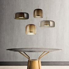 Modern Glass LED Clear Pendant Light Chandelier Dinging Room Fixtures Lamp