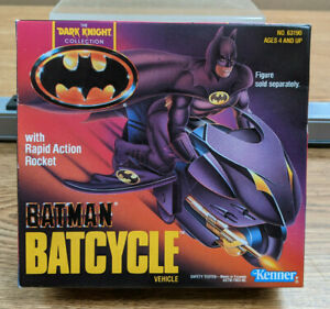 Kenner Batman Dark Knight Collection Batcycle Vehicle