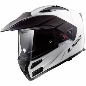 CASCO MOTO MODULARE LS2 FF324 METRO EVO P/J COLORE BIANCO TAGLIA M - XL