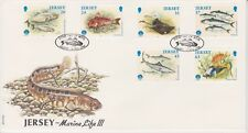 Unaddressed Jersey FDC First Day Cover 1998 Marine Life III Set 10% off 5