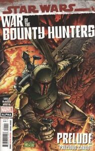 Star Wars War of the Bounty Hunters Alpha 1A McNiven NM 2021 Stock Image
