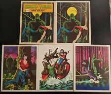 1983 SWAMP THING Art Portfolio by Paul Gulacy RARE OOP Eclipse DC