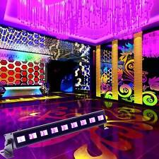 9 LED 27W UV  Stage Lighting Wall Wash Black Light Effect Bar Disco Party Light