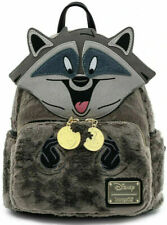 Loungefly Disney Pocahontas Meeko Fuzzy Mini Backpack