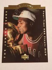 1996-97 UPPER DECK MICHAEL JORDAN NR.MINT/ MINT CHICAGO BULLS A CUT ABOVE #CA9