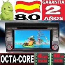 """4GB RAM 7"""" ANDROID 8.0 FIAT BRAVO 2007-2014 GPS COCHE RADIO DVD WIFI OCTA CORE S"""